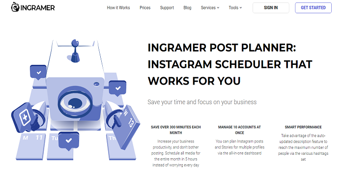 instagram scheduler